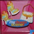 Mattel 2004 My Design Scene Boots & Purse Accessory Pack H4073