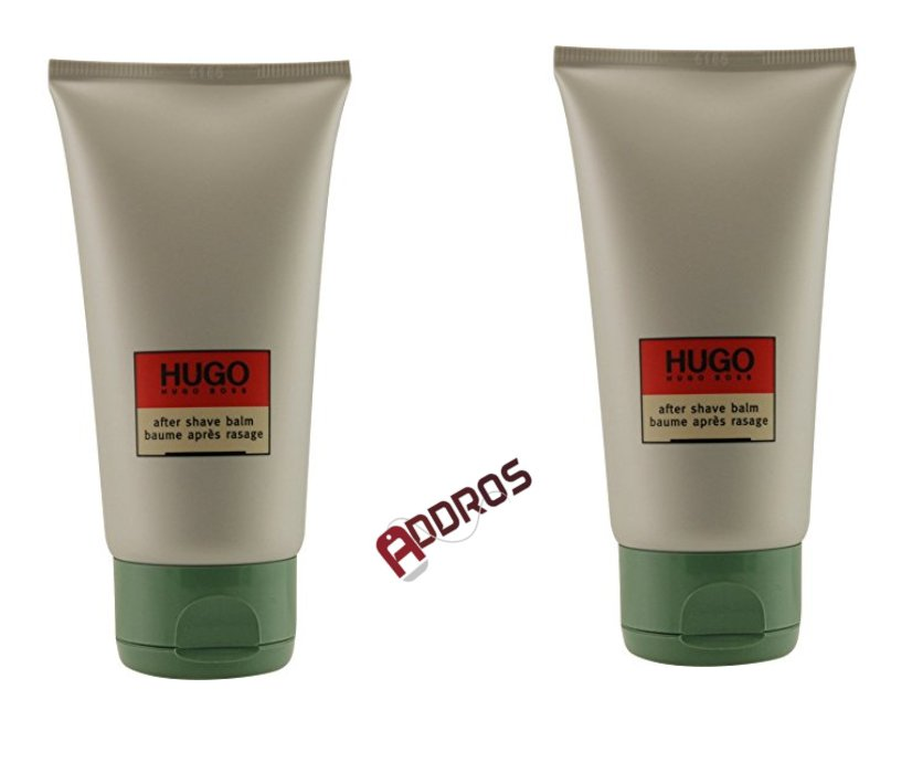 (2-PACK) Hugo Boss After Shave Balm (unboxed) 2.5 Oz (75 ml)