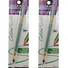 (2-PACK) L'Oreal Colour Riche Wood Pencil Eyeliner, Sea Green 940