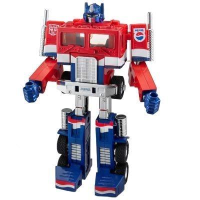 Transformers Optimus Prime PEPSI  G1 figure