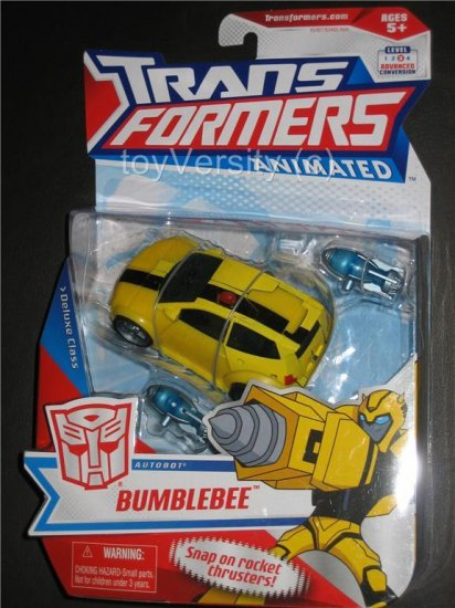 Transformers Bumblebee Animated Series Deluxe Tv Show Cartoon