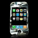 Black & White Camouflage Silicone Skin Case for the Apple iPhone