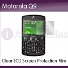Clear LCD Screen Protection Film for the Motorola/Moto Q9