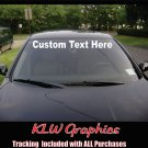 Custom Windshield Banner * Decal Sticker JDM Diesel Truck Car 1500 2500 Crew Cab