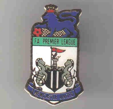 NEWCASTLE United Premiership football badge