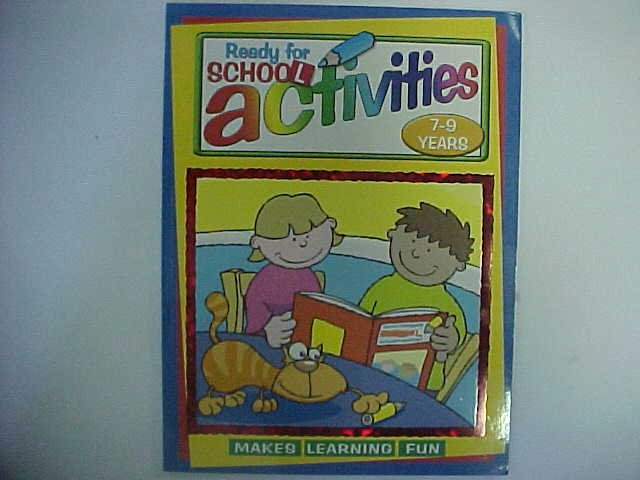 Ready for school Activities - Illustrated by jim Peacock