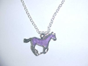 Necklace - Coloured horse