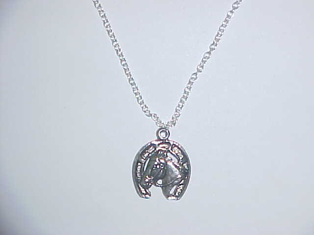 Necklace - Horse in shoe