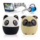 Bluetooth 4.1 Wireless Cute Animal panda dog Sound Speaker Portable Clear V
