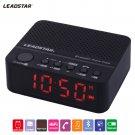 LEADSTAR Portable Mini Wirelss LED Alarm Clock Bluetooth Speaker Hands free