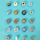 Sterling Silver Individuality Beads Charm Khols European Bracelet You Choose Pretty