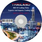 Thailand Exports and Imports Trading | Bill of lading data Disk