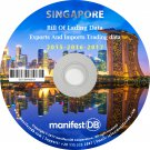 Singapore Exports and Imports Trading | Bill of lading data Disk