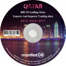 Qatar Exports and Imports Trading | Bill of lading data Disk