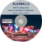 Australia Exports and Imports Trading | Bill of lading data Disk