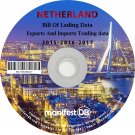 Netherlands Exports and Imports Trading | Bill of lading data Disk