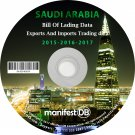 Saudi Arabia Exports and Imports Trading | Bill of lading data Disk
