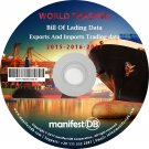 World Exports and Imports Trading | Bill of lading data Disk