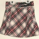 GIRLS PLAID PLEATED SKIRT SIZE 8