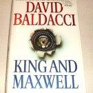 King and Maxwell: King and Maxwell by David Baldacci (2013, Hardcover)