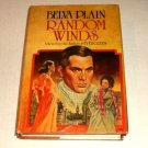 Random Winds by Belva Plain (1980, Hardcover)