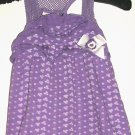 GIRLS PURPLE BOW TOP SIZE 4T