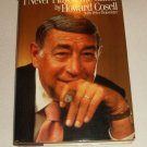 I Never Played the Game by Peter Bonventure and Howard Cosell (1985, Hardcover)