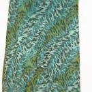 WOMEN'S  PRINTED  DOUBLE V NECK DRESS SIZE 12