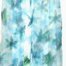 WOMEN'S SHADES OF BLUE MAXI DRESS AND SHEER JACKET SIZE M