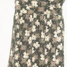 WOMEN'S V NECK PRINTED DRESS SIZE M