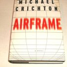 Airframe by Michael Crichton (1996, Hardcover)