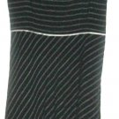 WOMEN'S BLACK /WHITE PRINTED DRESS SIZE 8 ANN TAYLOR LOFT