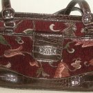 WOMEN'S RED PRINTED BAG SIZE MED