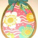 decorative painted egg size 16 x 22