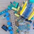 Mixed Grab Bag of Components Capacitors & Resistors Plus More All New Parts