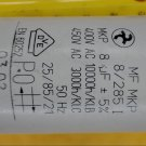 DVE MF MKP 8/285 Through Hole 400V AC 8UF +-5% Capacitor New Quantity-1