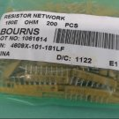 QTY (200) 4609X-101-181LF BOURNS 180E Ohm 9 PIN SIP BUSSED RESISTOR NETWORKS