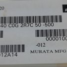 MURATA GRM40C0G2R7C50-500 SMD 0.0033UF 25V 5% Capacitor New Lot Quantity-200