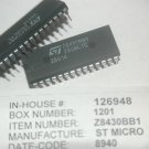 ST MICRO Z80BCTC / Z8430BB1 28-Pin Plastic Dip Timer Controller IC New Lot Qty-2