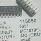 MOTOROLA MC10189L 16-Pin Ceramic Dip Buffer 6-CH Inverting ECL New Lot Qty-2