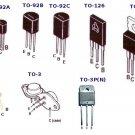 SGS BF305 High Voltage Transistor Through Hole New Lot Quantity-2