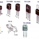 SGS BF257 BJT NPN High Voltage Bipolar Transistor TO-205AD New Lot Quantity-5