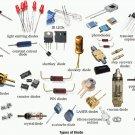 ST MICRO 1N3020B D/C 8946 10V 1W Zener Diode DO-204AL New Quantity-5