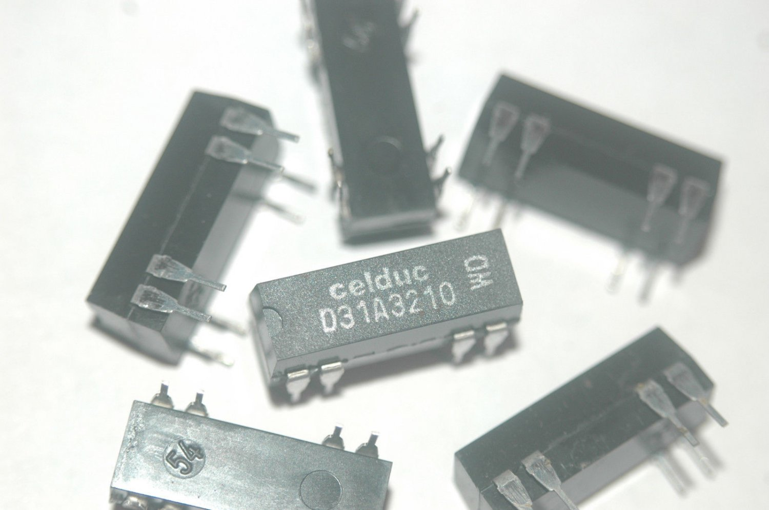 Celduc D31a3210 8 Pin Dip Obsolete Reed Relay New Parts Lot Quantity 10 Solid State