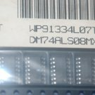 NATIONAL DM74ALS08MX 14-Pin SOIC DM74ALS08D 74ALS08D 74ALS08 Qty-25