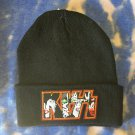 Kiss Black Beanie Hat One Size Fits all Unisex