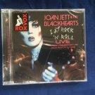 JOAN JETT AND THE BLACKHEARTS I LOVE ROCK N ROLL LIVE SEALED CD