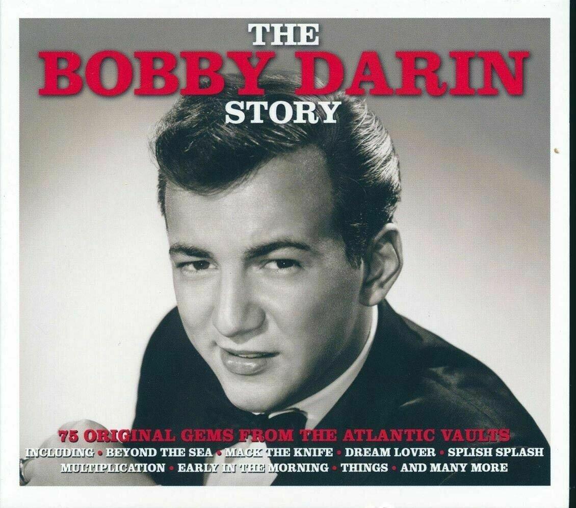 BOBBY DARIN  *  75 Greatest Hits * NEW 3-CD BOX SET  * All Original Songs * NEW