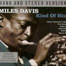 Miles Davis KIND OF BLUE Mono & Stereo COLTRANE Adderley NEW SEALED 2 CD