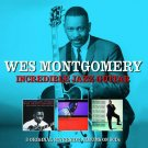 Wes Montgomery INCREDIBLE JAZZ GUITAR + Movin' Along & So Much Guitar NEW 3 CD